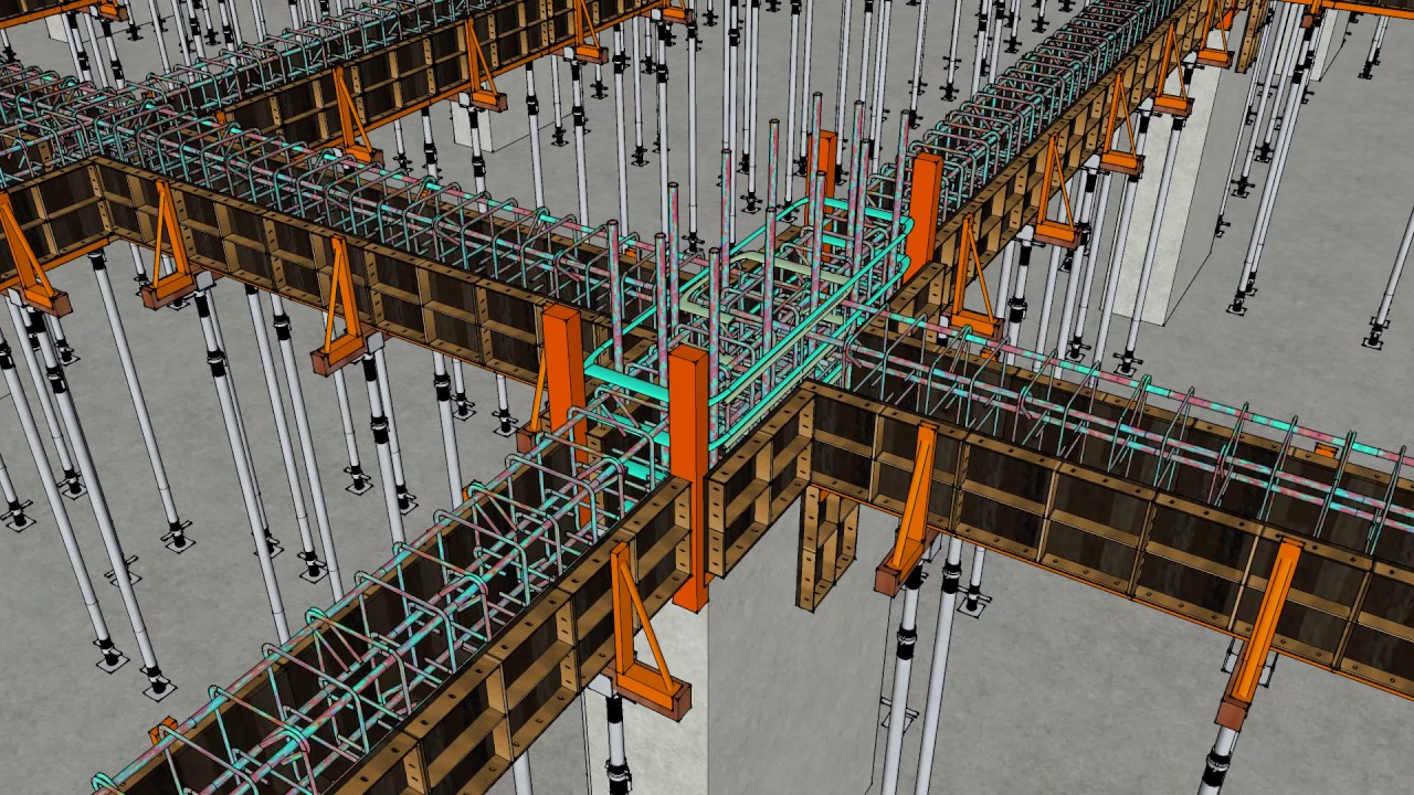 Analyzing the Efficacy of a Suspended Concrete Slab in Formwork and Concrete Construction